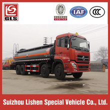Diluted Hydrochloric Acid Dongfeng Truck 8*4 Tanker Transportation 20 cbm Liquid Chemical Truck