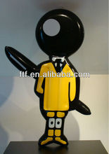 2013 PVC inflatable boy character for advertise