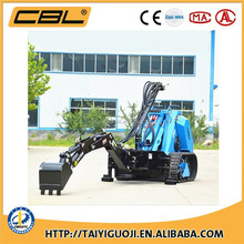 MS500 mini skid steer loader,china bobcat,engine power 35hp,loading capacity 520kg