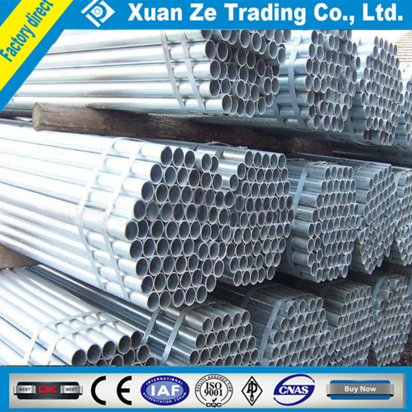 galvanized steel pipes price/gi scaffolding pipes&tubes