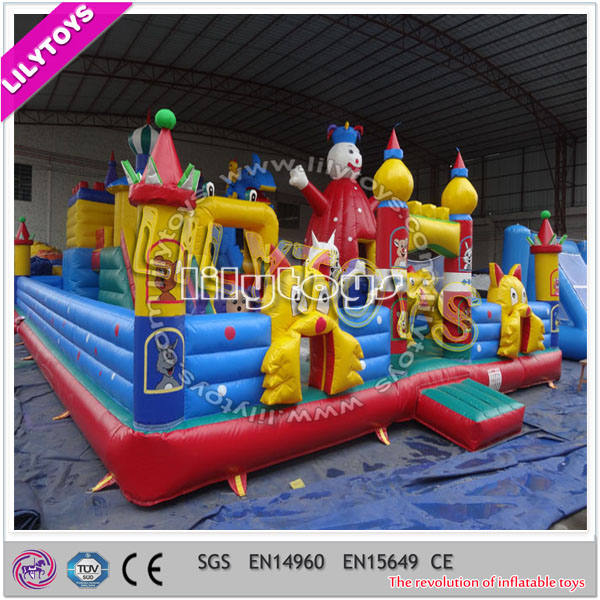 15*8*6M happy snow man children amusement park equipment with SGS