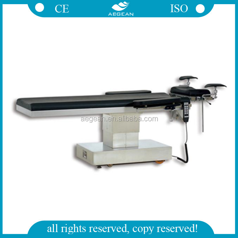 2014 Hot Sale AG-OT022 CE approved Electric operation table surgical procedures videos