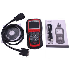 2015 New Arrival 100% Original Autel AutoLink AL619 OBDII CAN ABS and SRS Scan Tool Auto OBD OBDII Code Scanner Update Online