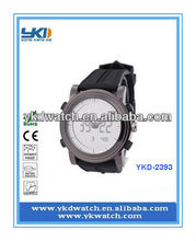 wholesale thin rubber sports watch for promotion