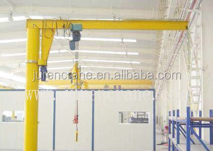 semi type rail mounted gantry crane with four wheels