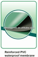 Reinforced PVC waterproof membrane, PVC roof/base liner, PVC film