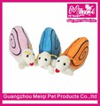 Lovely Plush Snail Dog Toy with Squeaker Pet Toy