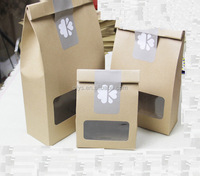 Healthy Recycle Customized Food Paper Box Packaging, custom Kraft Paper Box