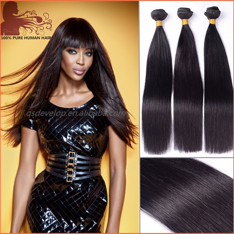 hair factory large stock high quality silk soft wholesale natural indian hair