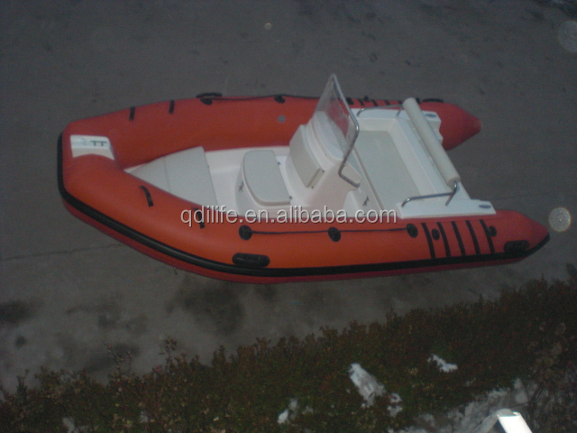 Factory Direct special model inflatable motor boat with boat console
