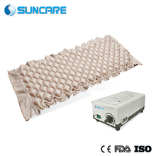 Beige Bubble Wave Bed Sore To Prevent Gas Mattress With P2000IIE Pump