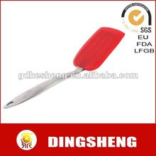 Hot selling silicone pizza turner with stainless steel handle