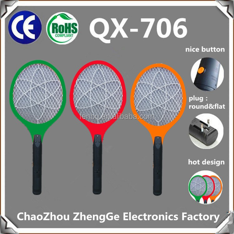 QX706-3 Electric Mosquito mosquito swatter circuit mosquito killer electric fly swatter to mexico