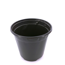 Cheap Eco-friendly Biodegradable Plastic Garden Black Flower Pot For grow
