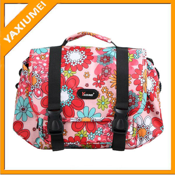 shoulder dlsr waterproof canvas camera bag for Lady