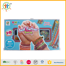 Fashion diy kids crafts beauty perler beads jewelry set girls toys for sale