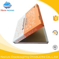 hot sale aluminum foil cardboard carton pizza paper packing box for food