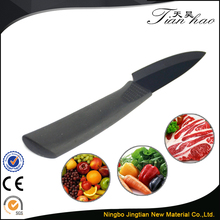 Soft Grip Handle Sharp White Blade Black Beautiful Ceramic Knives