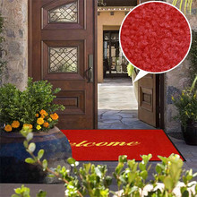 Wholesale washable anti dust anti slip entrance door welcome mat