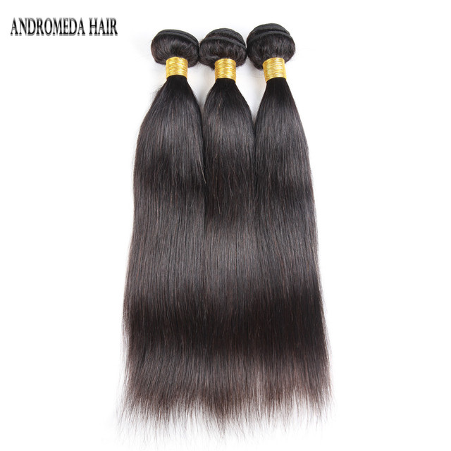 Afro Russian virgin brazilian straight hair 16 18 20 inches weave bundles mink peruvian hair grade 8A natural color