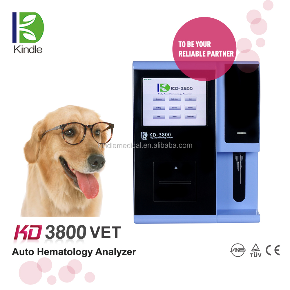Kindle Medical serum hematology analyzer KD3800 for animals diagnostic hematology