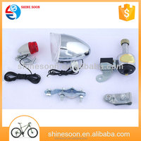 Modern hot sale gift bike light dynamo light for bicycle