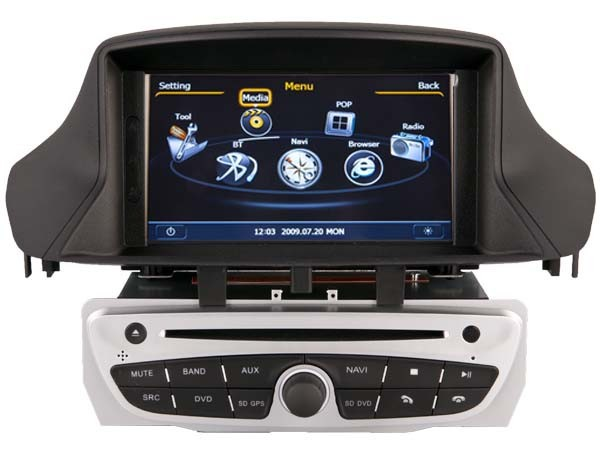 WITSON car multimedia RENAULT FLUENCE WITH A8 CHIPSET 1080P V-20DISC WIFI 3G INTERNET DVR SUPPORT