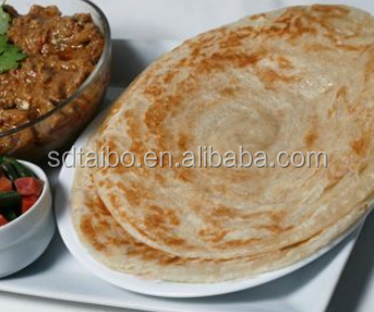 YBJ400 delicous automatic flat bread making machine round paratha/chapati machinery