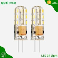 Super bright 360 degree silica gel 3W 4w 5w 12V 220v g4 led 0.5w with high lumen