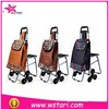 Hot sale foldable trolley shopping bag vegetable,shopping cart bag or shopping trolley bag