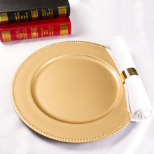 Wholesale Gold Wedding Cheap Charger Plates