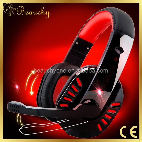 2016 Beauchy newest Factory Sale Gaming Stereo Headphones Headset Earphone with Mic for PC Laptop Gaming Stereo Neva