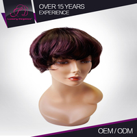 Clean And Soft Unprocessed Crazy Color Wigs