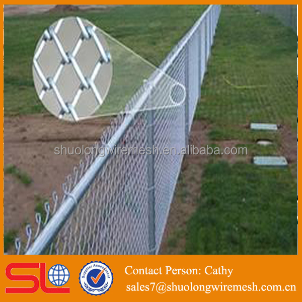 high quality galvanized removable chain link fence suppliers in chennai