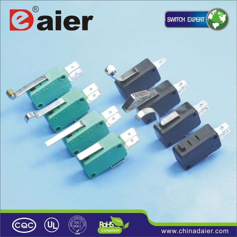 Daier 125v/250v ac door limit switches