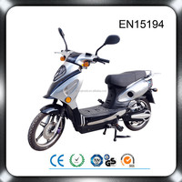 16 inch 2 wheels pedal assist 48v 500w lead acid battery electric scooter