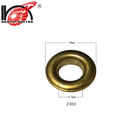 Fancy round metal curtain eyelet ring for curtains