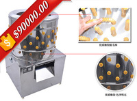 Stainless steel barrel chicken feather removing machine