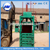 hydraulic scrap automatic recycling metals cans baler machine