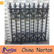 trade assurance outdoor decorative cast iron fence panels NTIF-041S