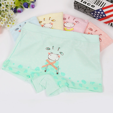 Daisy Wholesale lacework bamboo fiber solid color girls kids preteen underwear model