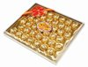 chocolate compound with peanut wafer mixed milk candy ball insquare gift box 42PCS G-020
