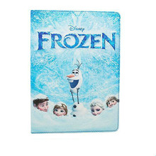 2015 newest design pu pouch for ipad air frozen cover case / flexible customize cover for ipad air cartoon case