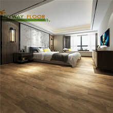 Rigid Click SPC Vinyl Flooring Building Materials Floating Floors Used