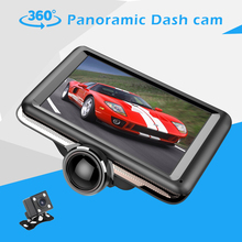 5 inch 360 degree panoramic dual lens dash cam user manual fhd 1080p car camera dvr video recorder