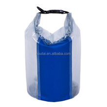 Factory supply high quality 250D pvc tarpaulin waterproof dry bag for boating
