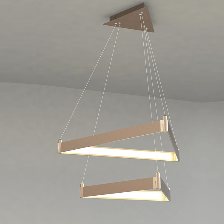 L4U SAA TUV UL CE Certificated Product Contemporary Design Acrylic LED Chandelier Light