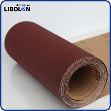 WX167 Resin over resin aluminum oxide abrasive cloth roll