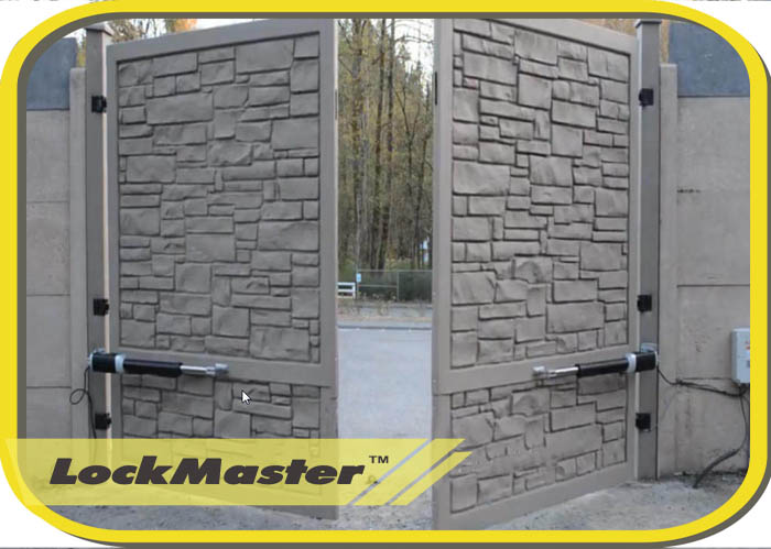 Lockmaster swing door opener motor electric dc electric - Brazos puertas automaticas ...