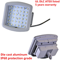 IP68 UL DLC ATEX 120w led explosion-proof high bay lighting with 5 years warranty